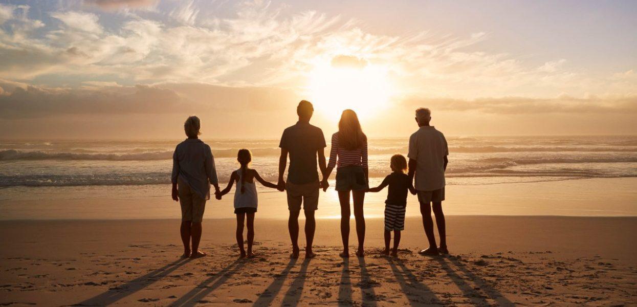 Un voyage avec famille nombreuse